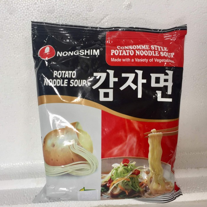 comparation study of instant noodle nong shim Noodles with chicken flavor, spices and dried vegetables'' do not microwave pack size: 75g noodles: wheat flour (51%), palm oil, potato starch, modified potato starch, salt, ricebran seasoning oil (rice bran oil, corn syrup, emulsifier: e322), soup base: salt, flavour enhancers.